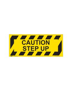 Caution Step Up 420mm x 160mm