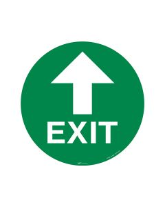 Exit Up Arrow 440mm x 440mm