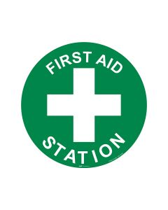 First Aid Station 440mm x 440mm