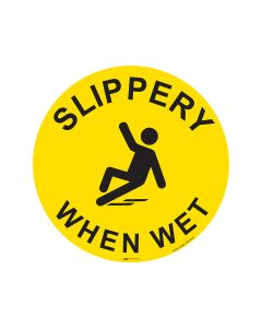 Slippery When Wet 440mm x 440mm