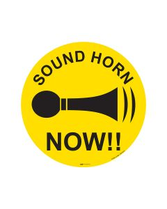 Sound Horn Now 440mm x 440mm