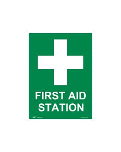 First Aid Station 450mm x 600mm - Polypropylene