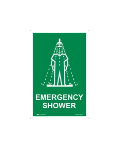 Emergency Shower 300mm x 450mm - Metal