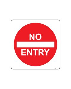 No Entry 750mm x 750mm - C2 Reflective Aluminium