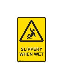 Slippery When Wet 300mm x 450mm - Polypropylene