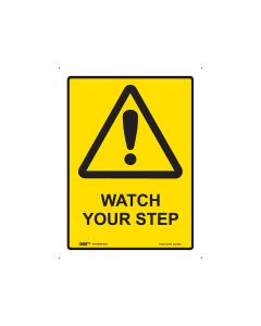 Watch Your Step 225mm x 300mm - Metal