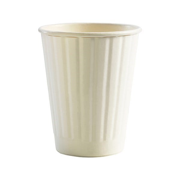 Double wall compostable hot cup