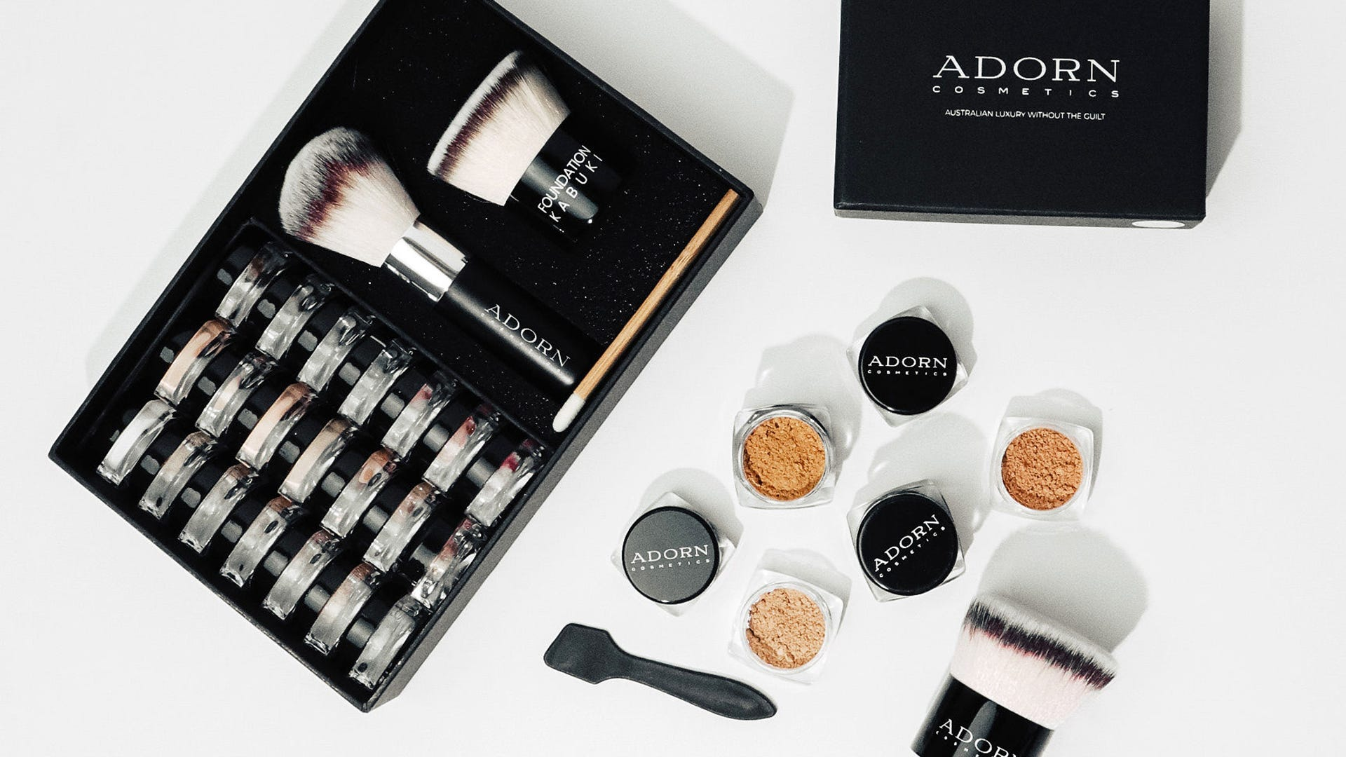 Adorn Cosmetics Powder Samples