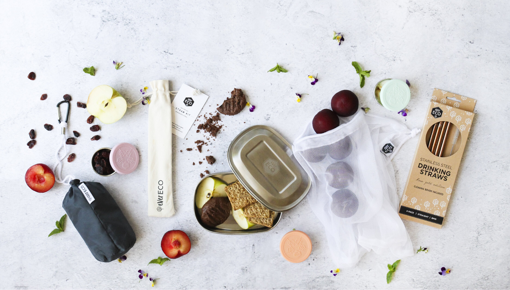 Ever Eco Product Flat Lay