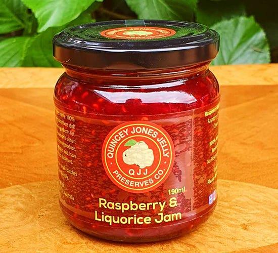 Quincey Jones Raspberry and Liquorice Jam