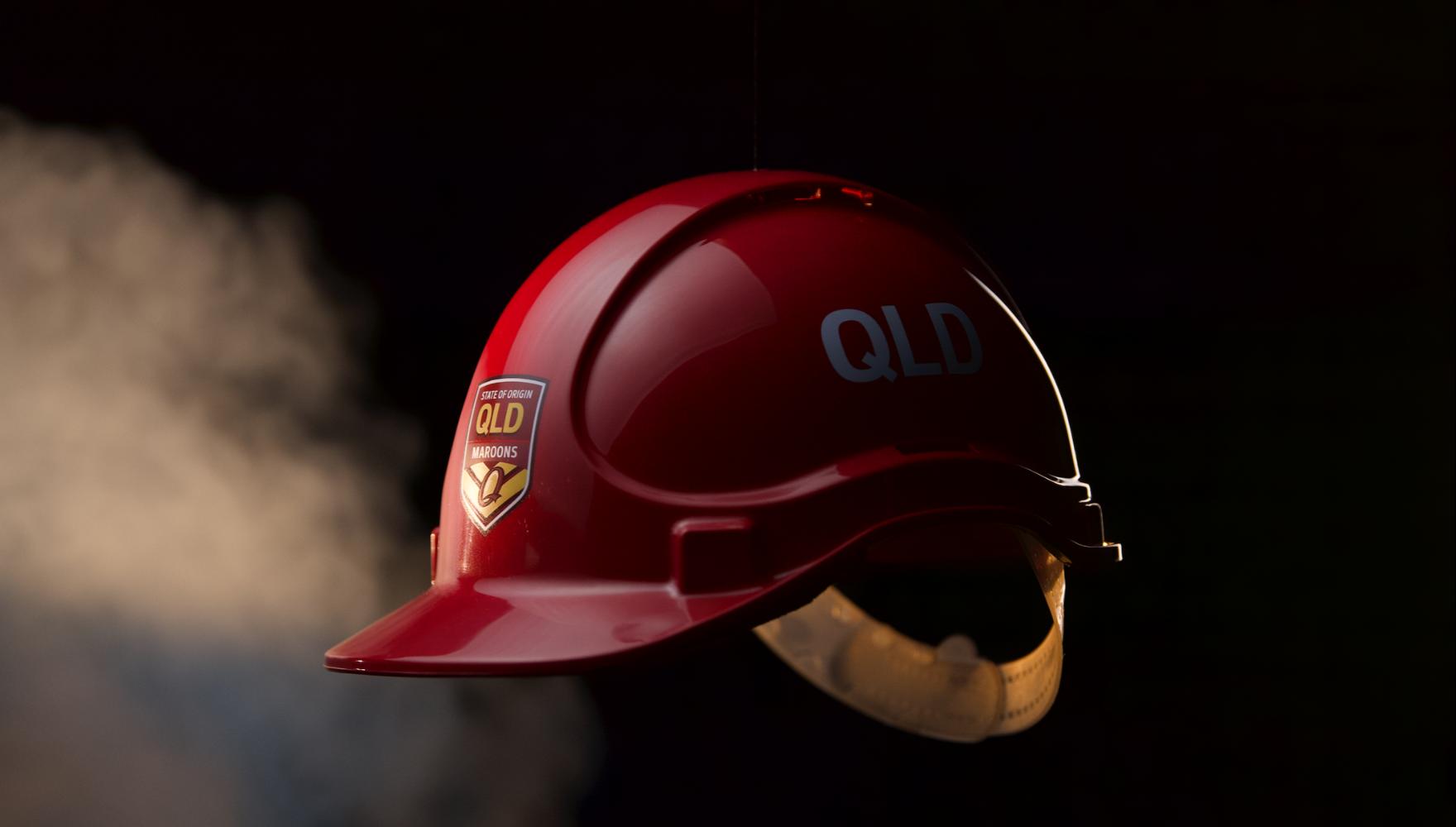 Signet's Qld State of Origin Hard Hat