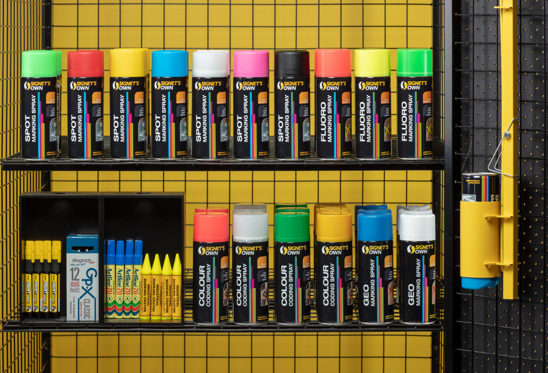 Signet's Colour Coding Spray
