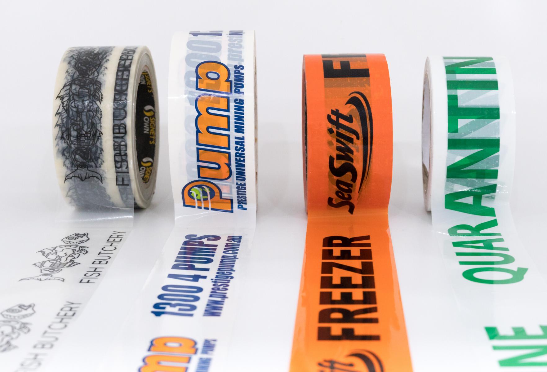 Signet's Custom Tape Lined Up