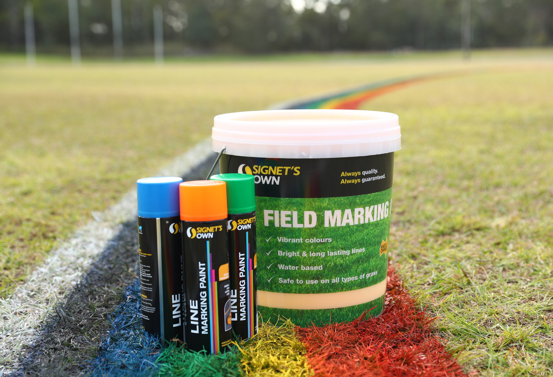 Signet's Own Line and Field Marking Paint