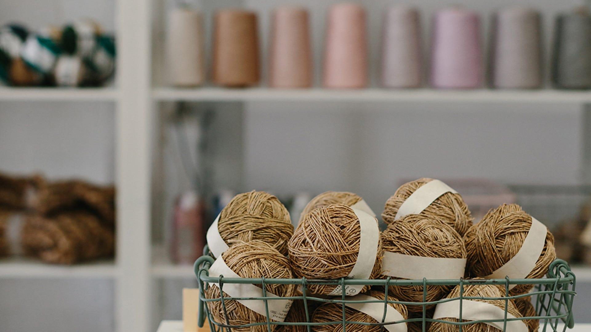String Harvest balls of string