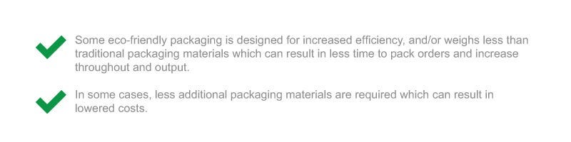 Sustainable Packaging Checkpoints