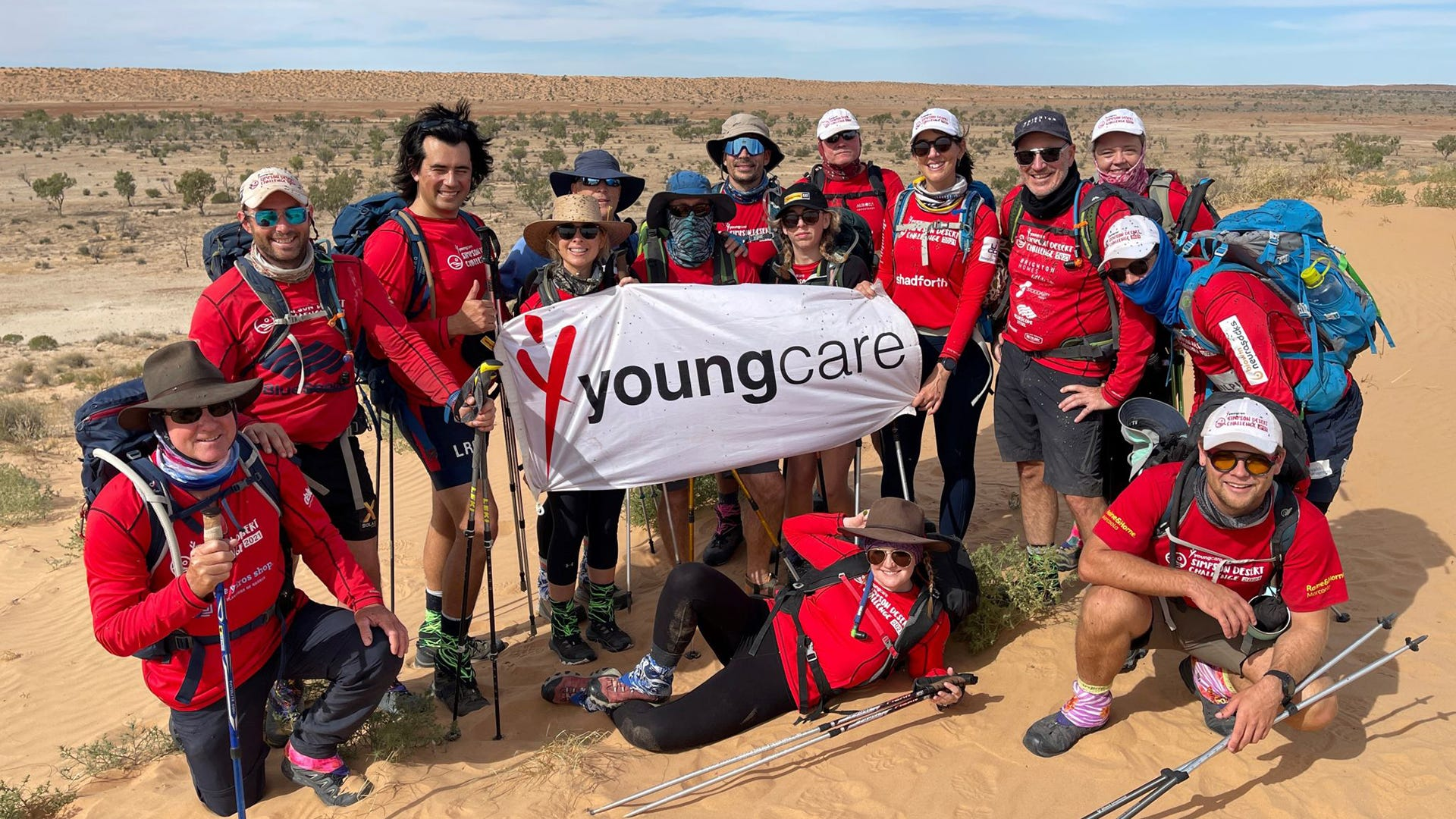 Youngcare Simpsons Desert Challenge Team